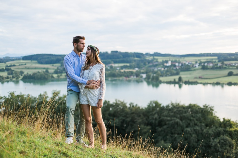 Hochzeit,Hochzeitsfotograf,München,Ebersberg,Burghausen,Chiemgau, Waging,Taching,See,Brautpaar,Paarshoot,Sunset,Bayern,Brautpaar,Engagement,Love-128