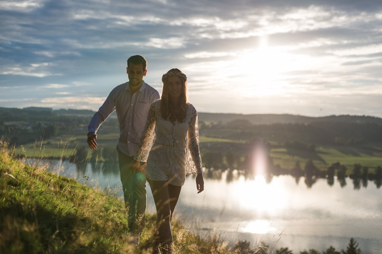 Hochzeit,Hochzeitsfotograf,München,Ebersberg,Burghausen,Chiemgau, Waging,Taching,See,Brautpaar,Paarshoot,Sunset,Bayern,Brautpaar,Engagement,Love-136
