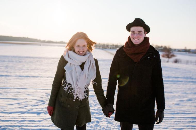 Hochzeit, Bayern, Muenchen, Hochzeitsfotograf, Brautpaar, Ebersberg, Burghausen, Love, Coupleshooting, Schnee, Winter, Winterhochzeit-115