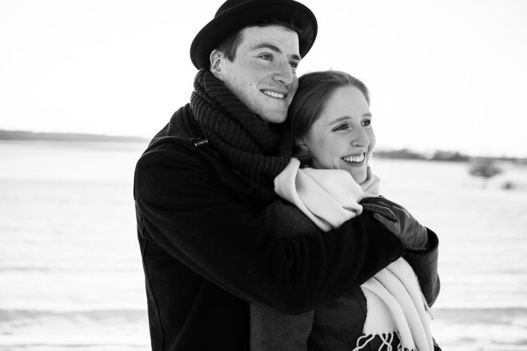 Hochzeit, Bayern, Muenchen, Hochzeitsfotograf, Brautpaar, Ebersberg, Burghausen, Love, Coupleshooting, Schnee, Winter, Winterhochzeit-119